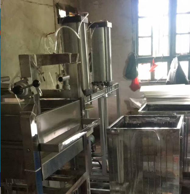 豆干机使用案例